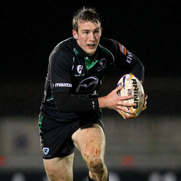 Connacht winger Mark McCrea