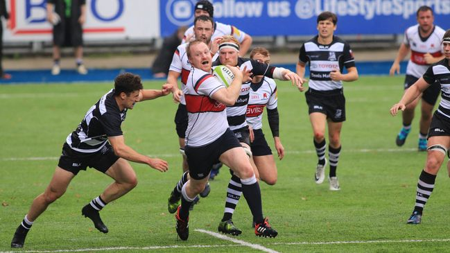 Mark Rowley on the charge for Old Wesley
