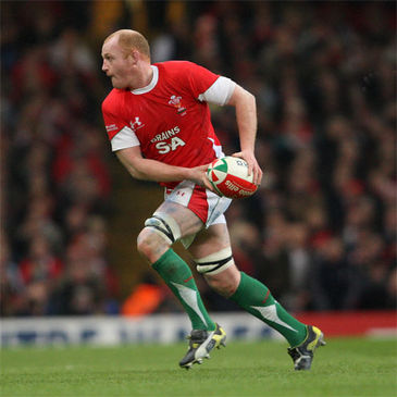 Wales flanker Martyn Williams