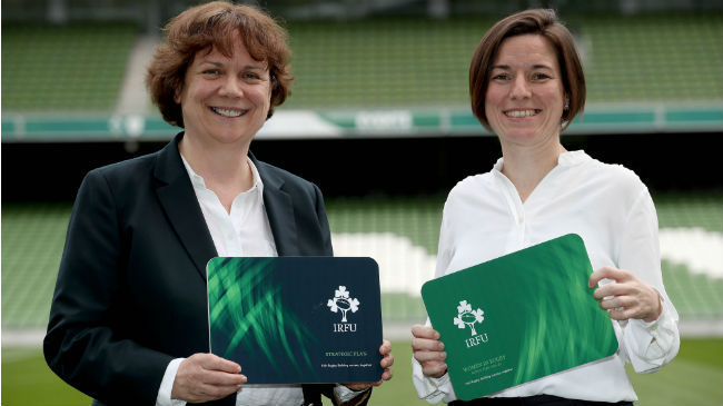 Irish Rugby TV: Mary Quinn On The Women In Rugby Action Plan