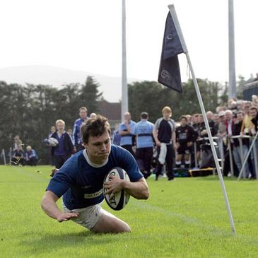 Matt D'Arcy has been in excellent form for St. Mary's College