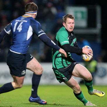 Matt Healy in action for Connacht against Leinster