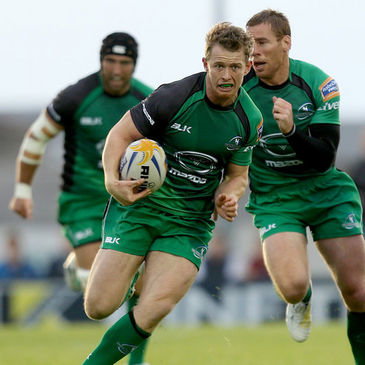 Connacht winger Matt Healy