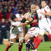 Scarlets scrum half Sililo Martens has Ulster's Matt McCullough in his way