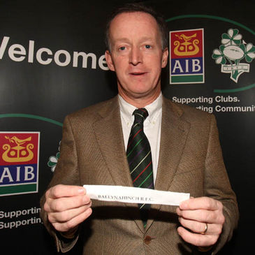 AIB General Manager Maurice Crowley at Saturday's draw