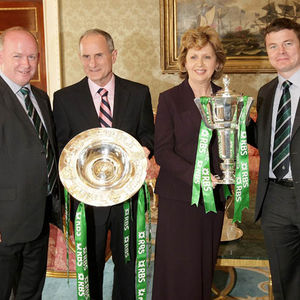 Grand Slam Winners' Reception At Áras An Uachtaráin, Phoenix Park, Dublin, Monday, April 20, 2009.