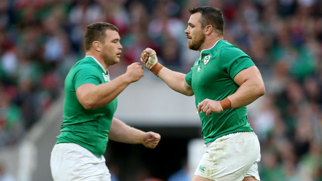 In The Chair: Jack McGrath And Cian Healy
