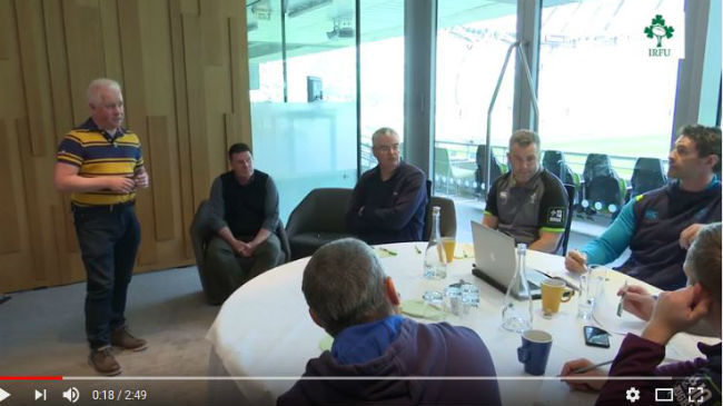 IRFU Host Mental Health Seminar For High Performance Staff Working With Young Players