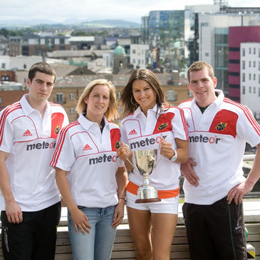Declan Bannon, Louise Beamish, Ali Lacey and Gearoid Phelan