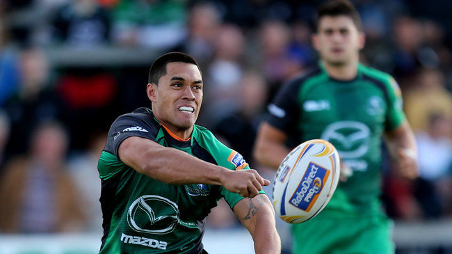 Connacht out-half Miah Nikora
