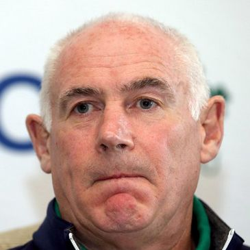 Ireland team manager Michael Kearney