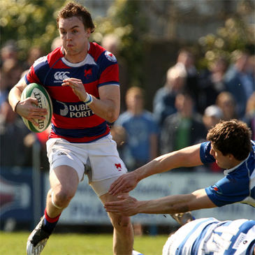 Michael Keating scored a brace of tries for Clontarf