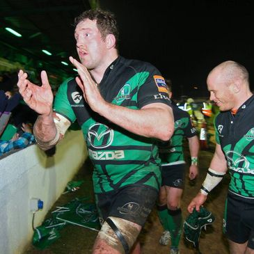 Connacht's Michael Swift