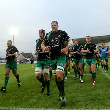 Connacht captain Michael Swift