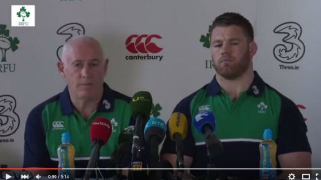 Irish Rugby TV: Ireland Squad Update As Luke Fitzgerald Ruled Out