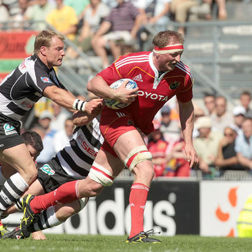 Mick O'Driscoll in action against Brive last season