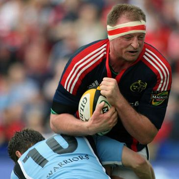 Mick O'Driscoll in action for Munster