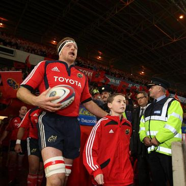 Mick O'Driscoll is Munster's stand-in captain for their clash with Connacht