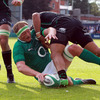 The Ireland Select XV took the lead in the 14th minute courtesy of a close range try from lock Mick O'Driscoll