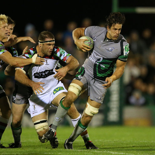 Mike McCarthy in Heineken Cup action for Connacht