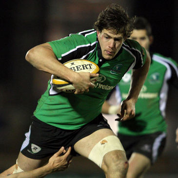 Connacht flanker Mike McCarthy