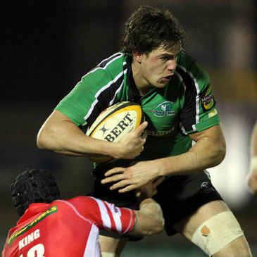 Connacht forward Mike McCarthy