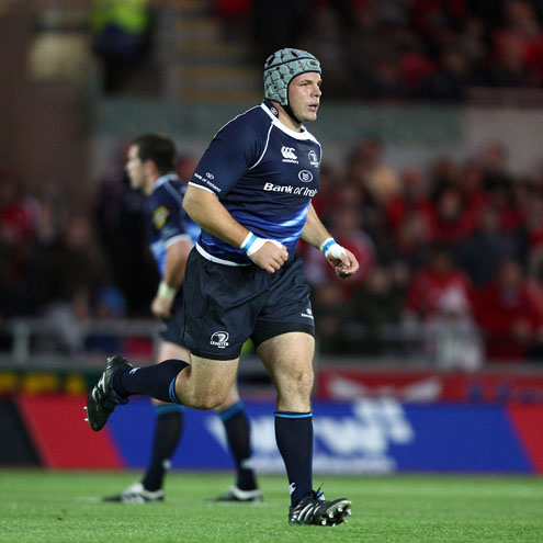 Leinster prop Mike Ross