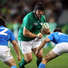 Mike Ross was also involved in the free-flowing attack which led to Ireland's second try of the second period