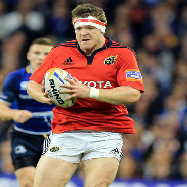 Hooker Mike Sherry in action for Munster