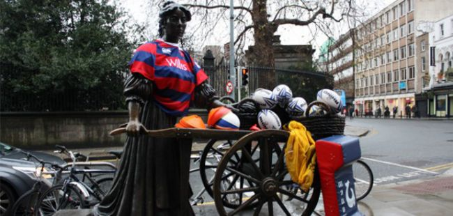 Molly Malone is a firm Clontarf fan