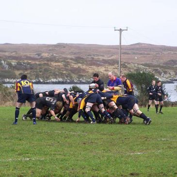 AIB League action at Monastery Field