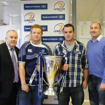 Gerry Muldowney, Sean Fitzgerald, Liam Murray-Byrne and Michael Davies