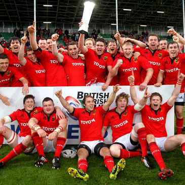 Munster A win the 2011/12 British & Irish Cup