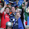 Munster and Leinster fans united as they cheered on Leo Cullen and Leinster