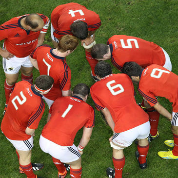 The Munster players talk tactics