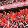 The flags were out and the Munster fans were in full voice as they roared the defending champions to an impressive quarter-final win