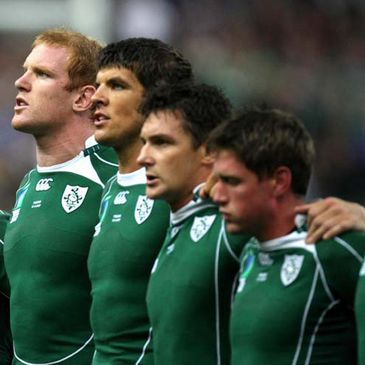 Some of Ireland's Munster-contracted players
