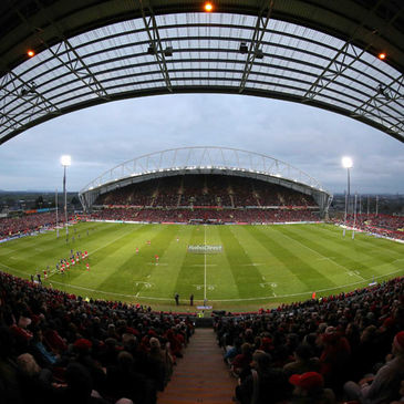A view of Thomond Park during the Munster v Leinster tie
