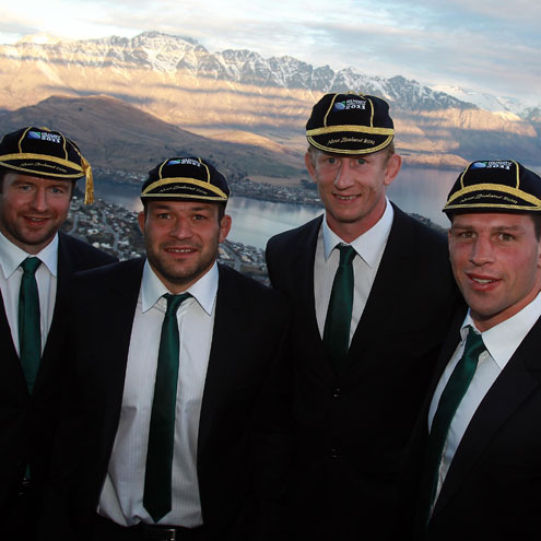 Ireland RWC Caps Presentation/Civic Reception, Skyline Complex, Queenstown, New Zealand, Sunday, September 4, 2011