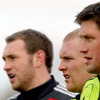 Johne Murphy, Keith Earls and Ronan O'Gara all featured in Munster's back-line for their Limerick win over the Ospreys