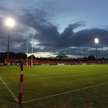 A view of Musgrave Park on match night