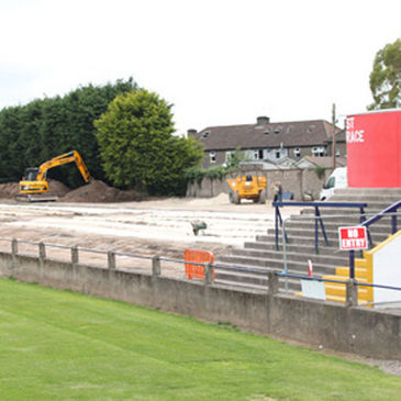 Munster are replacing the old Stand at Musgrave Park