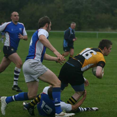Action from the CUSAI Sevens tournament