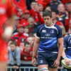 The disappointment is obvious for Scotland lock Nathan Hines, who was playing his final game for Leinster