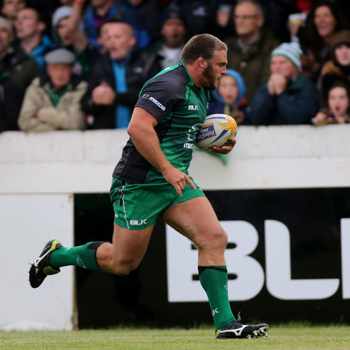 Connacht prop Nathan White