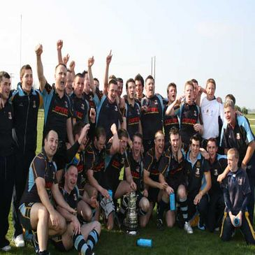 Navan celebrate winning the 2007 Provincial Towns Cup