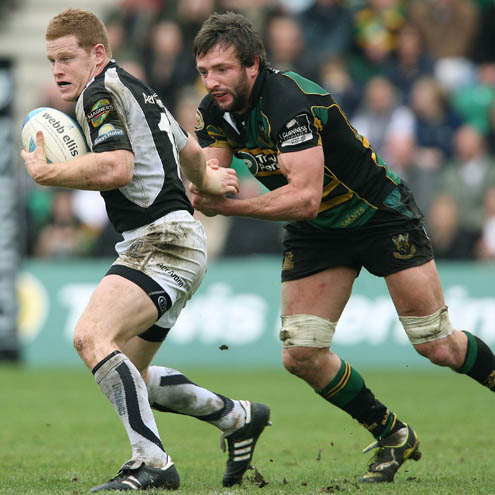 Northampton Saints 42 Connacht 13, Franklin's Gardens, Saturday, April 11, 2009