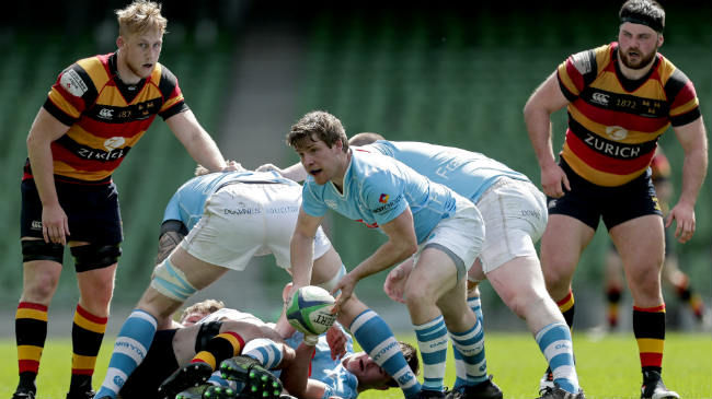 Neil Cronin in action for Garryowen against Lansdowne