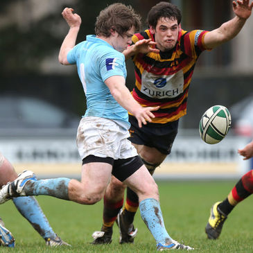 Garryowen's Neil Cronin in action against Lansdowne
