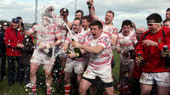 The Nenagh Ormond players celebrate